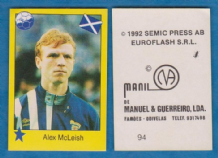 Scotland Alex McLeish Aberdeen